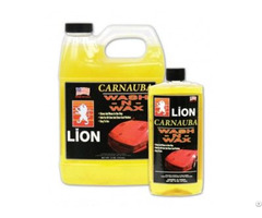 Lion Wash N Wax With Carnauba