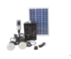 Mini Solar Power System With 9v Polysilicon Panel