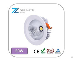 High Quality Downlights 12w To 50w Ce Rohs Saa Certified 5 Years Warranty White Led Lights