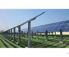 Solar Tracking System Pv Horizontal Single Axis