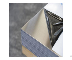 Silver Coated Hairline Stainless Steel Sheet