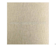 Vibration Brass Stainless Steel Sheet