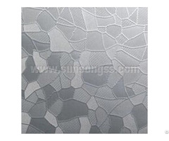 Icy Bamboo Embossed Stainless Steel Sheet