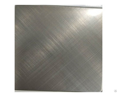 Silver Coated Stainless Steel Sheet