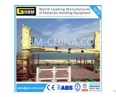 Hydraulic Cargo Marine Ship Deck Crane