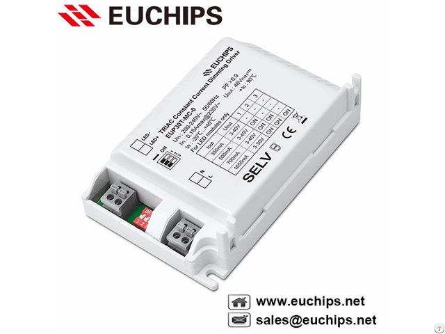 30w 350 500 700 1050ma 1 Channel Triac Constant Current Led Driver Eup30t Mc 0