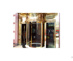 Automatic Curved And Round Door