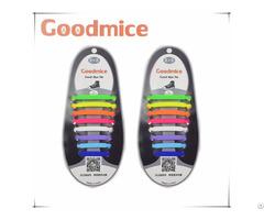 Silicone No Tie Shoelaces Elastic 16pcs Set
