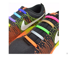 Promotional Shoes Accessory Silicone No Tie Shoe Laces
