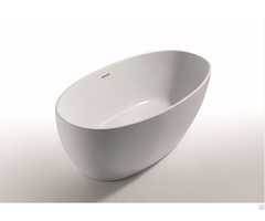 Paris Slim Edged Acrylic Freestanding Bathtub