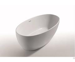Paris Slim Edged Acrylic Freestanding Bathtub