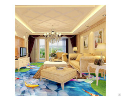 Hot Sell Bedroom Bathroom 3d Clear Epoxy Floor Paint