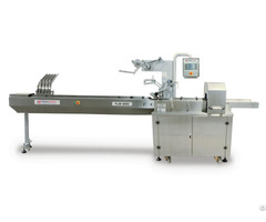 Horizontal Flowpack Packaging Machine With Magazine Feeding System