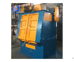 New Production Apron Airless Shot Blasting Machine Crawler Type Blaster