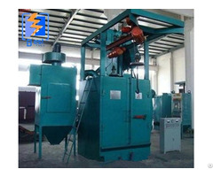 Hook Type Hanger Shot Blasting Machine For Surface Cleaning
