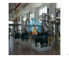 A Set Of Rice Bran Oil Extraction Machine