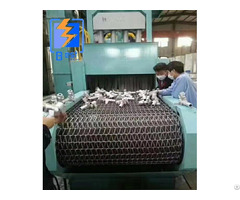 Wire Mesh Belt Roller Conveyor Shot Blasting Machine
