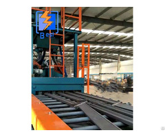 Dustless Through Type Shot Blasting Machine For Steel Plate And H Beam Surface Cleaning