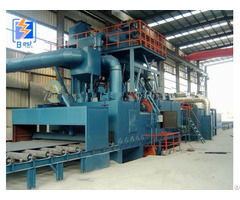 H Beam Used Shot Peening Machine Sand Blasting Equipment