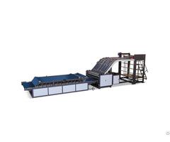 Zh Hii Semi Automatic Flute Laminator Lift Model