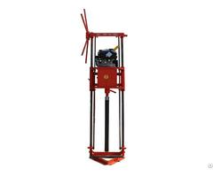 High Quality Small Gasoline Engine Portable Sampling Drilling Rig
