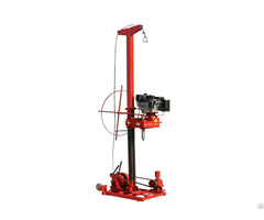 High Efficiency Down The Hole Drilling Rig Qz 3 Soil Investigation Machine