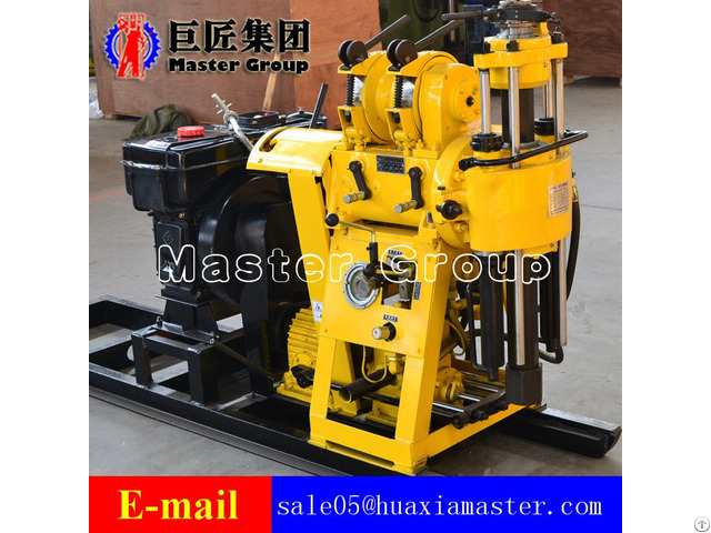 Huaxia Master Hydraulic Water Well Drilling Rig Hz 130y For