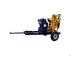 Cheap Hydraulic Wheeled Portable Water Well Drilling Rigs