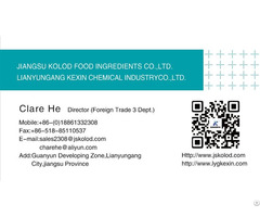 Inorganic Salt Of Phosphate Sulfate Citrate Chloride