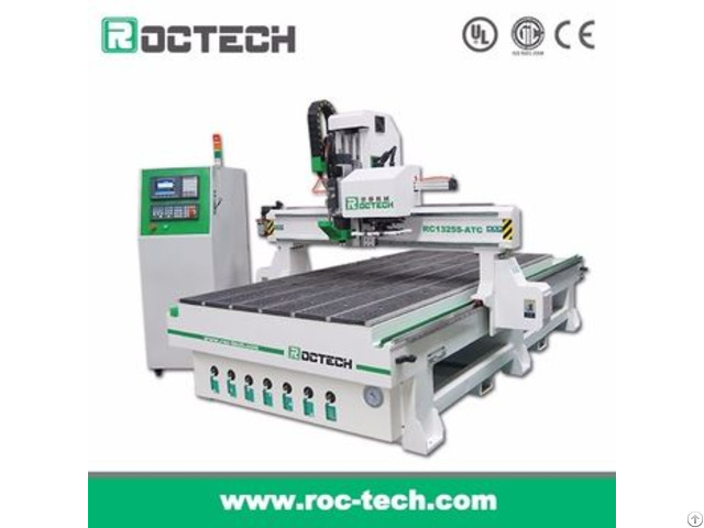 Woodworking 3 Axis Cnc Router Rc1325s Atc