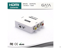 Hot Selling Av To Hdmi Converter Switcher Hdtv 1080p Exchanger