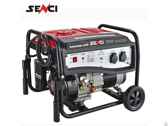Senci Brand Lpg Small Gas Turbine Generator For Sale