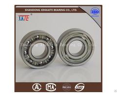 Nylon Retainer Conveyor Idler Bearing 6204ka For Mining Machine From China