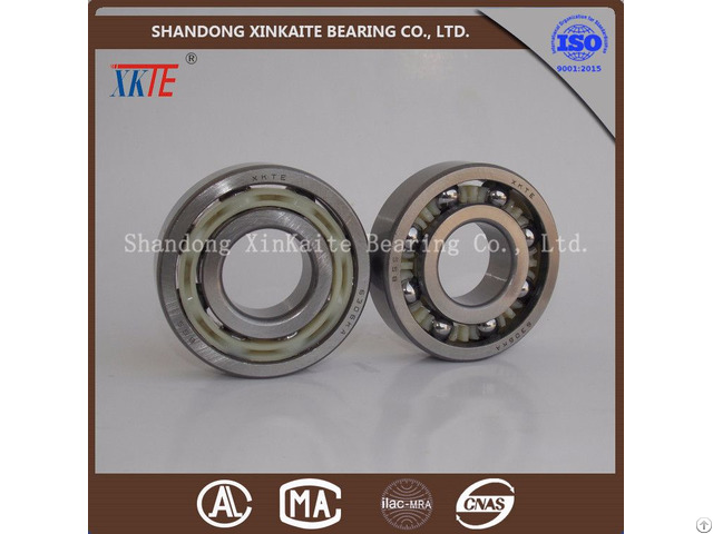 Nylon Retainer Bearing In Mining 6308ka For Conveyor Idler