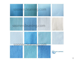 Woodpulp Polyester Polypropylene Spunlace Nonwoven Fabrics