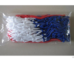Red Blue White 3 Colors Basketball Net