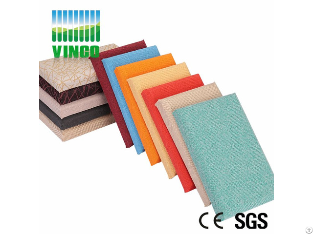 Fabric Wall Block Cinema Insulation Material