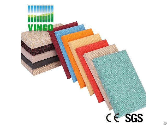 Fabric Wall Block Cinema Insulation Material