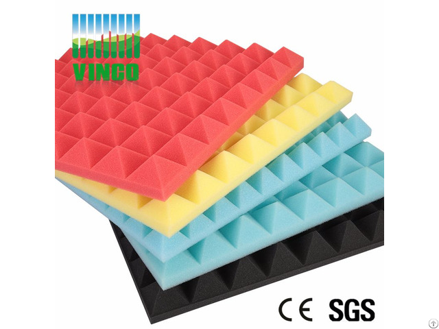 Acoustic Foam Panel Pyramid Style