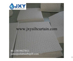 Dimpled White Oil Absorbent Pads