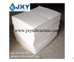 Dimpled And Perforated White Absorbent Pads