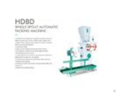 Hdbd Single Spout Automatic Packing Machine