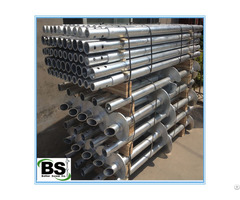 Galvanized Steel Ground Helical Screw Piles
