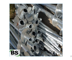 Galvanized Ground Screw Pole Anchor With Good Package