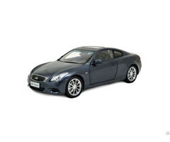 Infiniti 1 18 Scale G37 2013 Blue Diecast Model Car