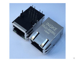 Ingke Ykju 8609nl Cross J1012f21knl 100 Base Tx Rj45 Connectors Includes Integrated Magnetics