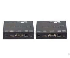 120m Hdmi Over Ip Extender With Poe Rs232