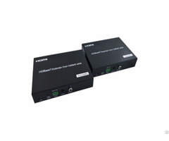 100m Hdbaset Extender With Audio Embedded Poc Ethernet