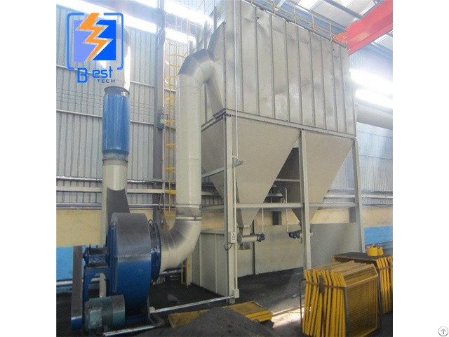 Industrial Bag Type Catcher Batching Plant Dust Collector