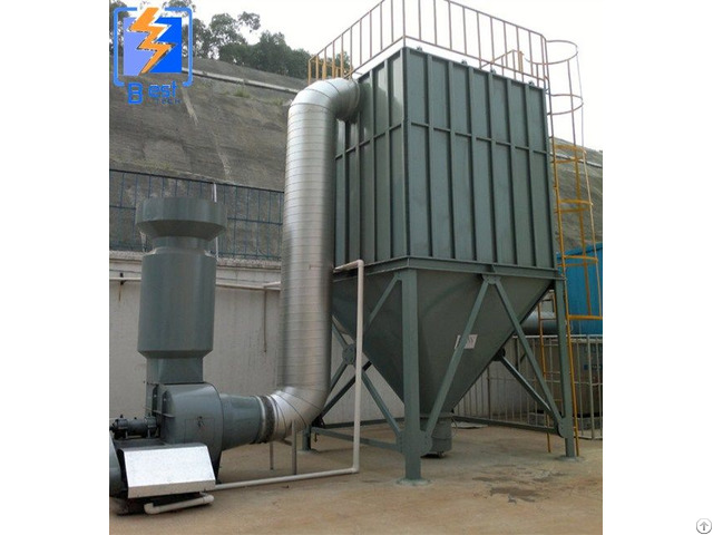 Heavy Industrial Fabric Filter Dust Collector Dedusting Equipment